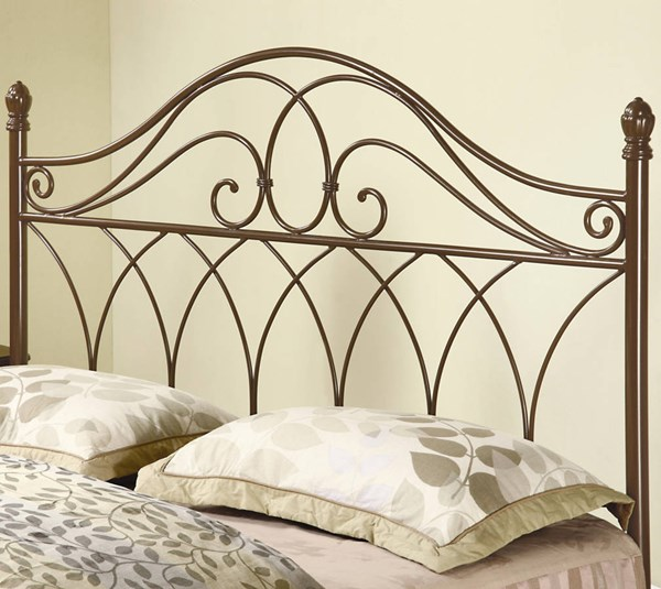 Traditional Rich Brown Queen/Full Headboard & Bed Frame CST-300186QFS