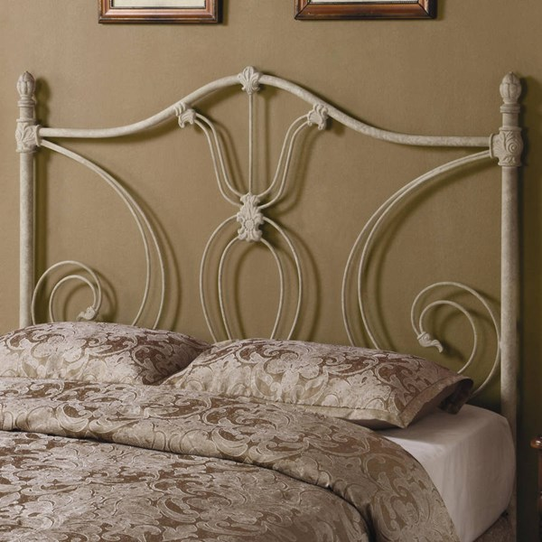 Rustic Ivory Queen/Full Headboard & Bed Frame CST-300188QFS