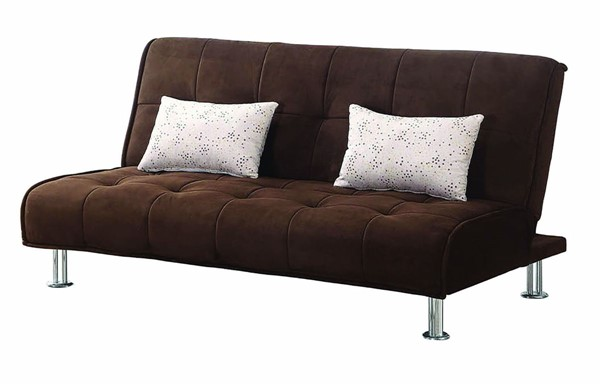 Coaster Furniture Brown Fabric Sofa Bed CST-300276