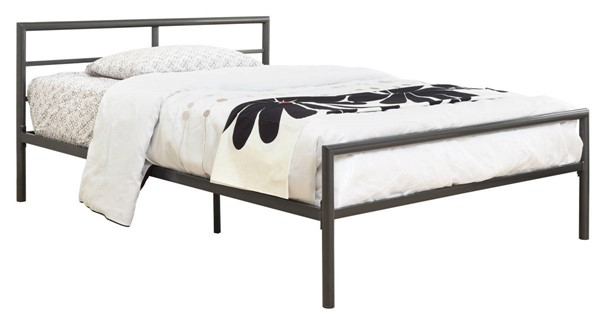 Coaster Furniture Fisher Gunmetal Twin Bed CST-300279T