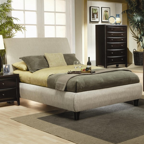 Phoenix Transitional Deep Cappuccino Wood Beds CST-300369-BED-VAR