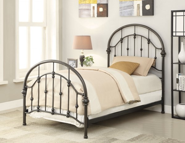 Maywood Dark Bronze Metal Beds CST-300407-BEDS