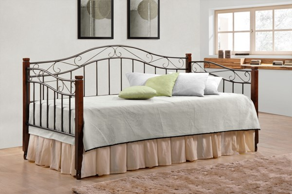 Black Cappuccino Metal Twin Metal Daybed CST-300424