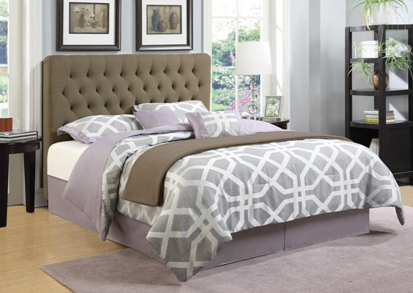 Chloe Traditional Wood Fabric Headboards CST-300528-B1-BEDS