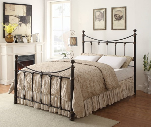Coaster Furniture Gideon King Bed with Frame CST-300724KE-9602QK
