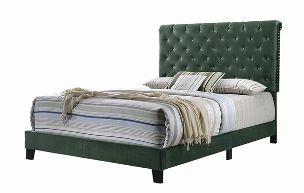 Coaster Furniture Warner Green Queen Bed CST-310043Q