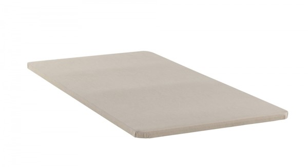 White Fabric King Size Split Bunkie Board CST-350020KE