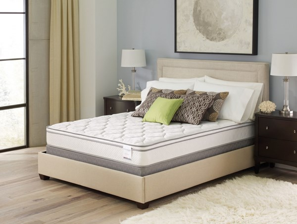 Trestles Euro Top Fire Resistant Twin Size Mattress CST-350038T