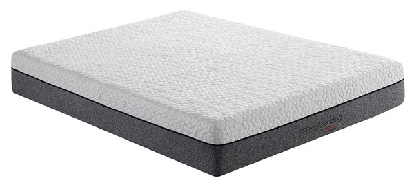 Coaster Furniture Solaris White Grey 12 Inch King Memory Foam Mattress CST-350094KE