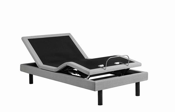 Coaster Furniture Negan Light Grey Twin XL Adjustable Bed Base CST-350112TL