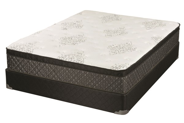 Coaster Furniture Wren White Grey 12.50 Inch Twin Mattress CST-350382T