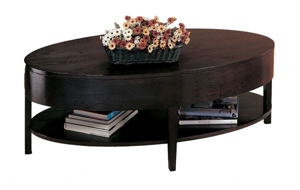 Casual Cappuccino Round Coffee Table CST-3941