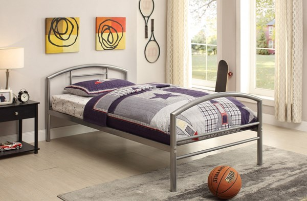 Coaster Furniture Baines Silver Twin Bed CST-400159T