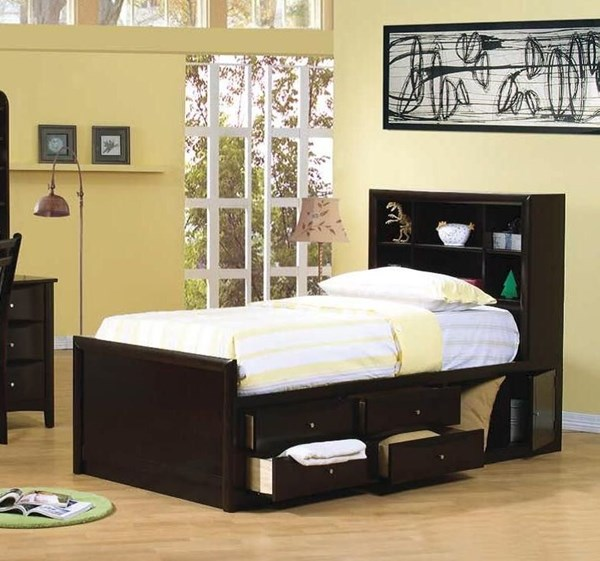 Coaster Furniture Phoenix Twin Full Platform Beds with Storage CST-400180-BED-VAR