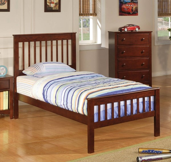 Parker Traditional Cappuccino Wood Panel Footboard CST-400290TB2