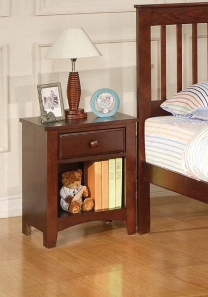 Parker Traditional Cappuccino Night Stand CST-400292