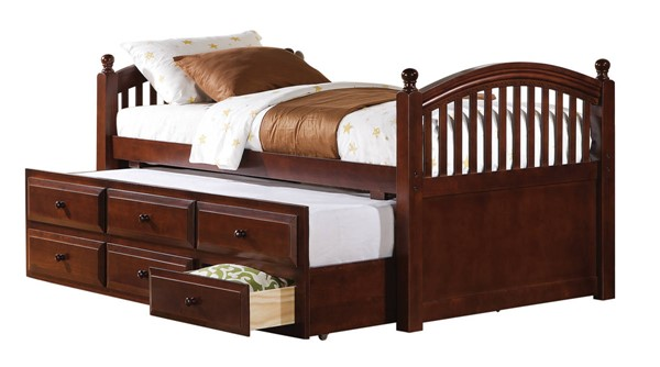 Coaster Furniture Chestnut Wood Twin Daybed CST-400381T