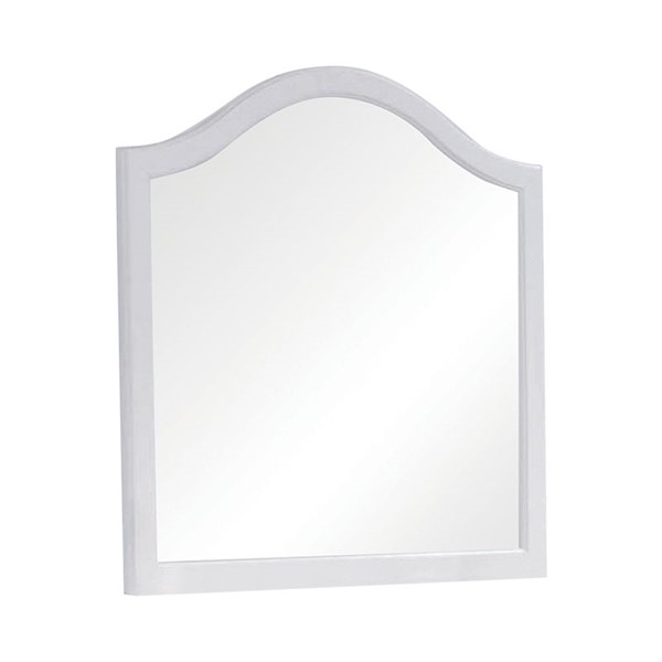 Coaster Furniture Dominique White Mirror CST-400564