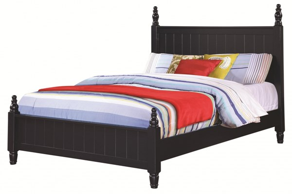 Zachary Transitional Navy Wood Low Profile Twin Bed CST-400691T