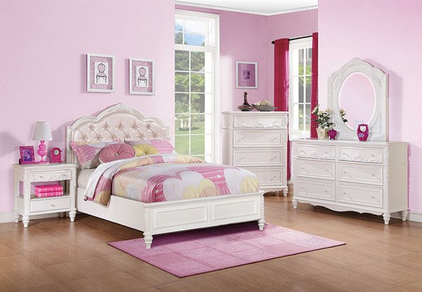 Coaster Furniture Caroline 3pc Kids Bedroom Set With Full Bed The Classy Home