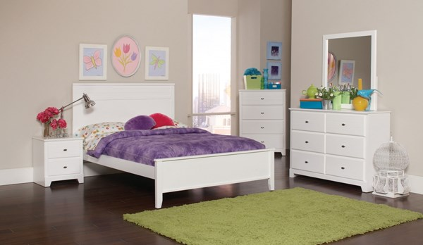 Coaster Furniture Ashton White 2pc Kids Bedroom Sets CST-400761-KBR-S
