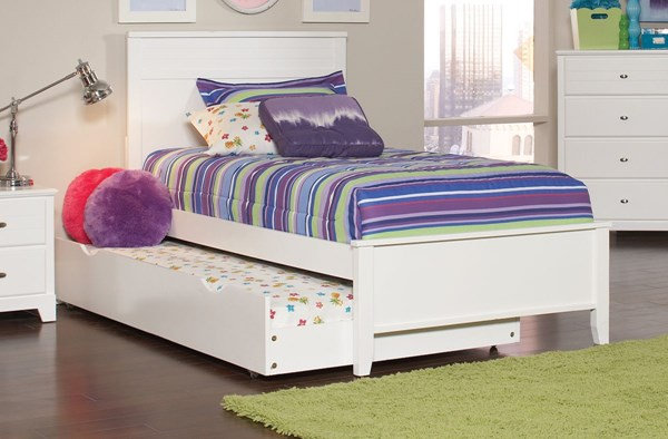 Coaster Furniture Ashton White Beds with Trundle CST-400761F-66-VAR