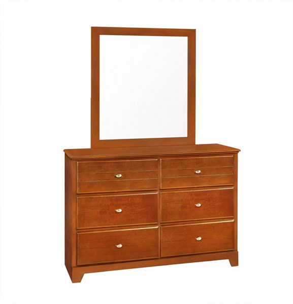 Ashton Honey Wood Multiple Drawers Dresser CST-400813