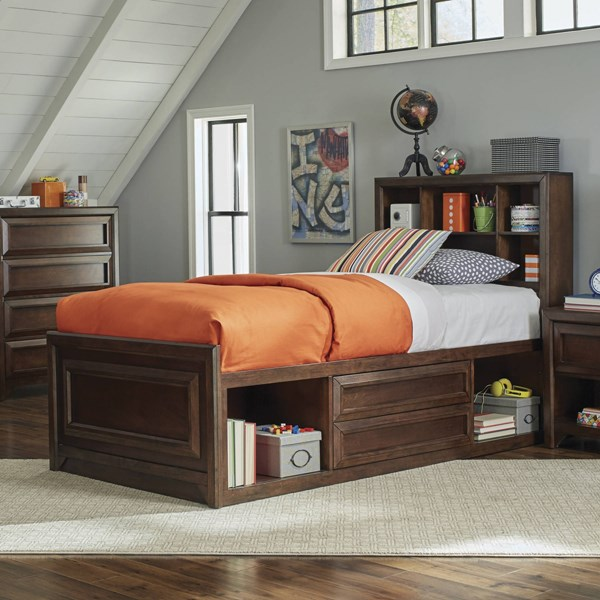 Coaster Furniture Greenough Oak Beds CST-40082-KBEDS