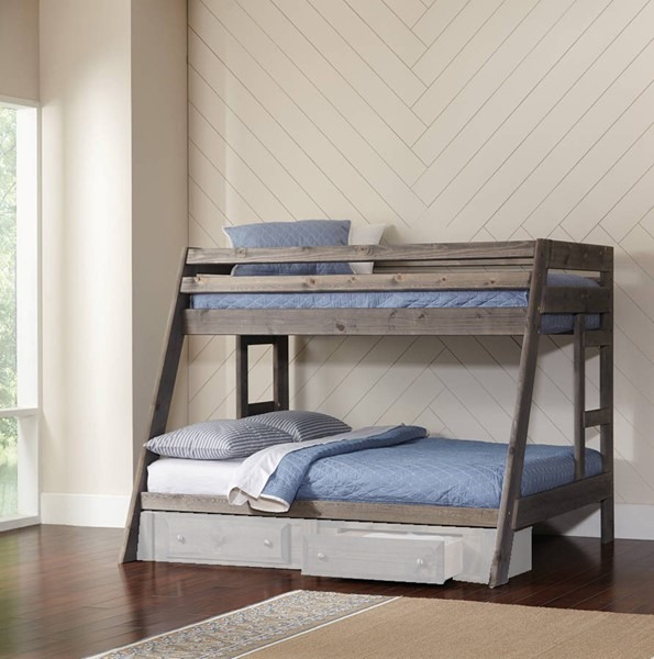 Coaster Furniture Wrangle Hill Twin Over Full Bunk Bed with Trundle CST-400830-36