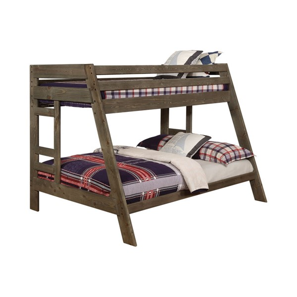 Coaster Furniture Wrangle Hill Twin Over Full Bunk Bed CST-400830