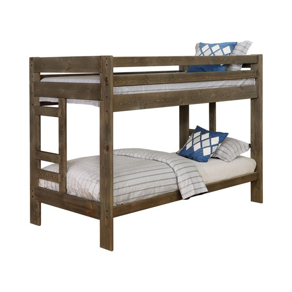 Coaster Furniture Wrangle Hill Gunsmoke Solidwood Bunk Bed CST-400831