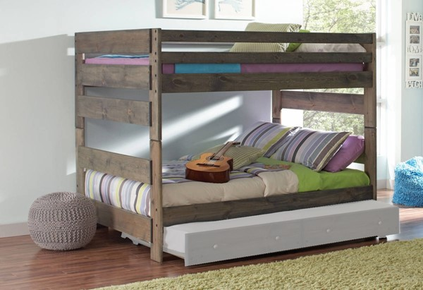 Coaster Furniture Wrangle Hill Full Over Full Bunk Bed CST-400833
