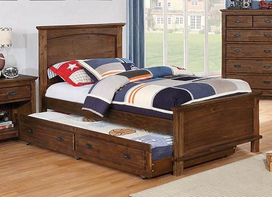 Coaster Furniture Kinsley Brown Panel Beds CST-40100-KBEDS-VAR