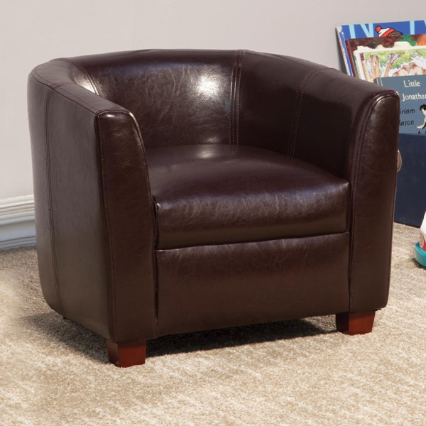 Dillon Transitional Brown Wood Kids Chair CST-405014