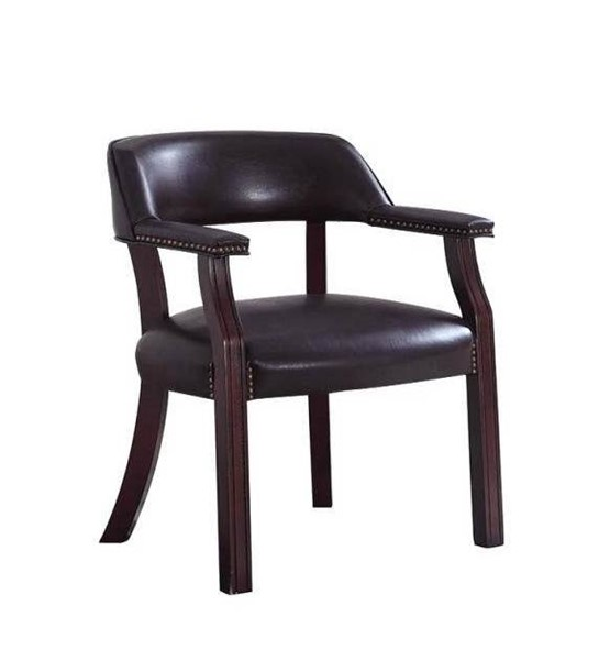 Coaster Furniture Cappuccino Brown Faux Leather Office Chair CST-413BRN