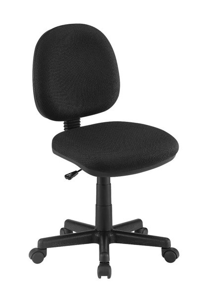 Coaster Furniture Black Fabric Office Chair CST-4200