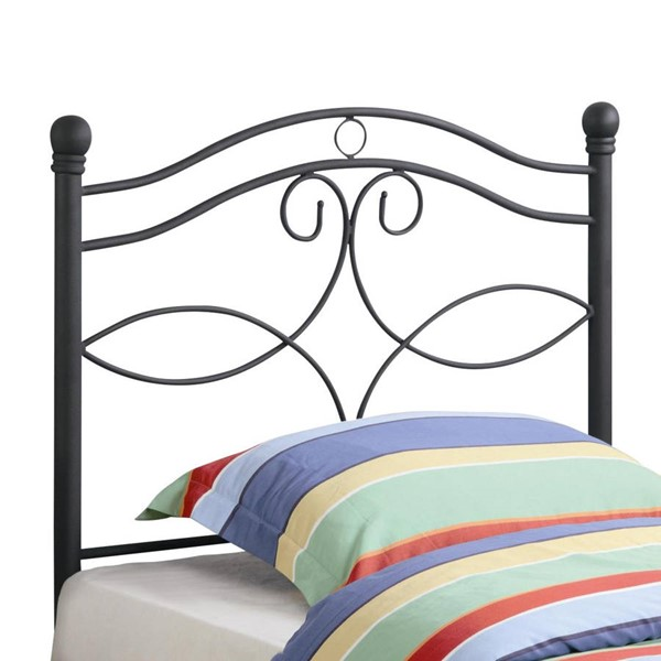 Coaster Furniture Black Metal Twin Headboard CST-450102T
