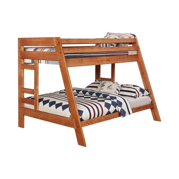 Coaster Furniture Wrangle Hill Amber Wash Twin Over Full Bunk Bed CST-460093