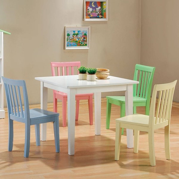 Coaster Furniture Table Chairs 5 pc Set