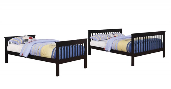 Coaster Furniture Black Bunk Bed CST-460259