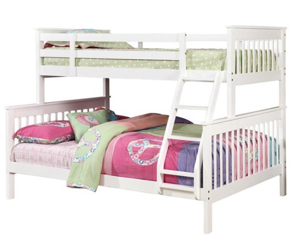 Coaster Furniture White Bunk Bed CST-460260