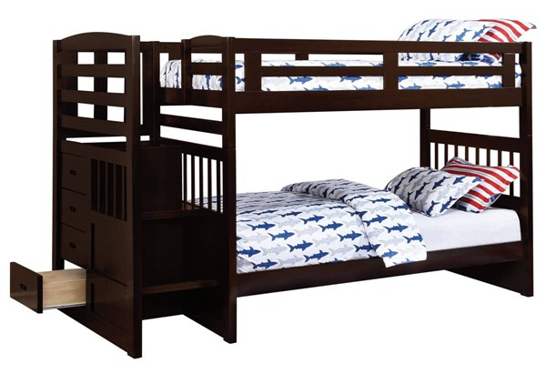 Coaster Furniture Dublin Twin Over Twin Bunk Bed CST-460362