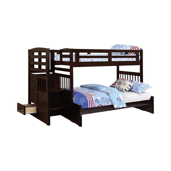 Coaster Furniture Dublin Twin Over Full Bunk Bed CST-460366