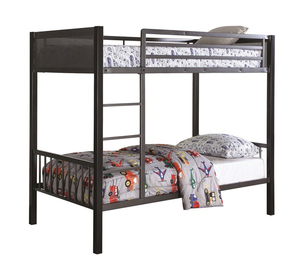 Coaster Furniture Meyers Twin Over Twin Bunk Bed CST-460390