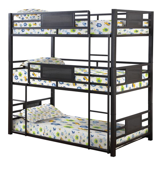 Coaster Furniture Rogen Full Triple Bunk Bed CST-460394F