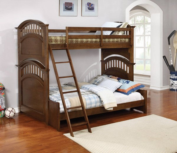 Coaster Furniture Halsted Walnut Bunk Beds CST-46108-BB-VAR