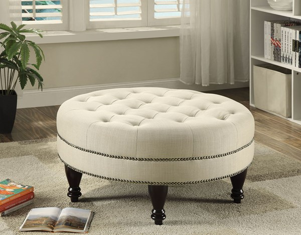 Coaster Furniture Oatmeal Ottoman CST-500018