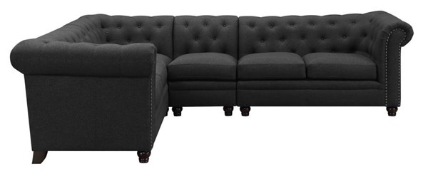 Coaster Furniture Roy Grey Sectional CST-500222-92-VAR