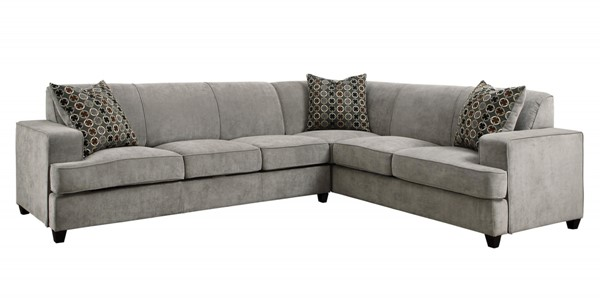 Coaster Furniture Tess Grey Sectional CST-500727