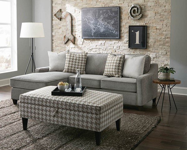 Coaster Furniture Montgomery Sectionals with Ottomans CST-50169-SEC-S-VAR